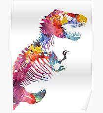 Funkosaurus Rex Poster