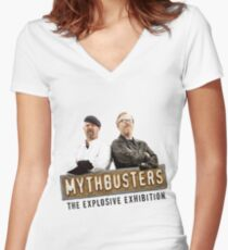 Mythbusters Women's Fitted V-Neck T-Shirt