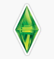 Sims Plumbob Aufkleber Sticker