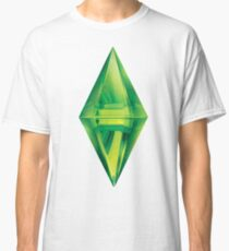 Camiseta clásica Pegatina de Sims plumbob