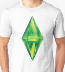 Sims plumbob sticker Unisex T-Shirt