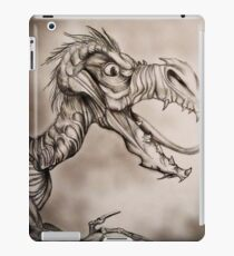 Dragon with a long tongue iPad Case/Skin