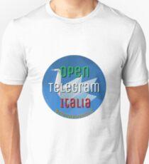 Open Telegram Italia Unisex T-Shirt