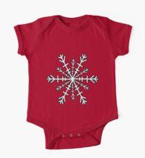 Minimalistic Snowflake Christmas Kids Clothes