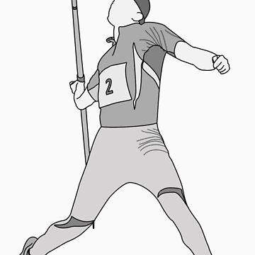 pitkamaki Javelin outlined by Ukenny