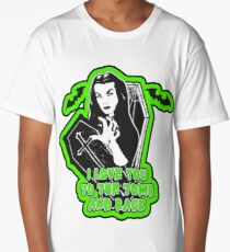 Vampira To the tomb and back Long T-Shirt