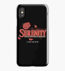 The Legend of Serenity, The Adventure of Mamoru iPhone Case/Skin