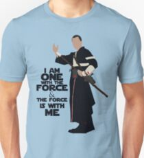 Star Wars - Chirrut Imwe I Am One With The Force And The Force Is With Me T-Shirt