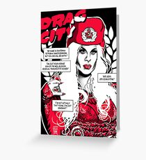 Drag City - Katya Greeting Card