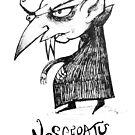 Nosferatu mini charicature by Extreme-Fantasy