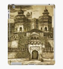 The Fort at Agra, Uttar Pradesh, North India,  Constructed by the Mughal Emperor Akbar in the 16th century iPad Case/Skin