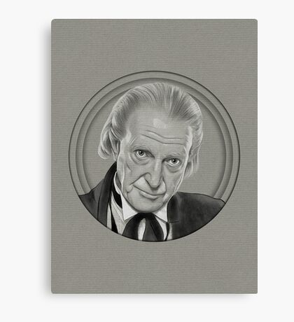 The other first Doctor Canvas Print