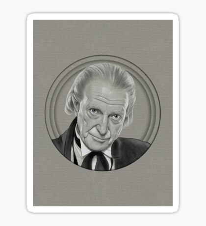 The other first Doctor Sticker
