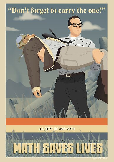 MATH SAVES LIVES by PLUS  3