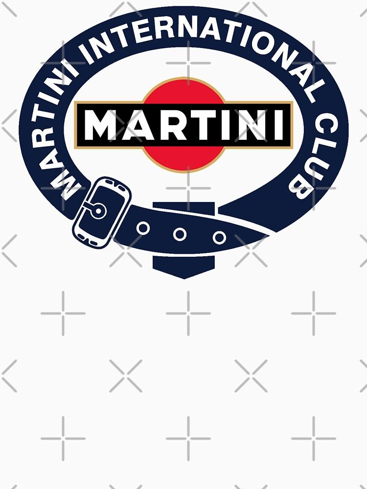 Martini Racing Club belt by JRLdesign