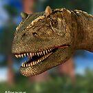 Allosaurus by 3dHistory