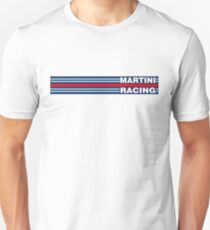 Martini Racing horizontal stripe T-Shirt