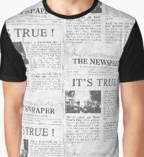 u2 new years day newspaper Graphic T-Shirt