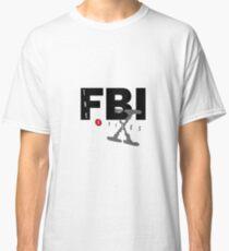 fbi x files Classic T-Shirt