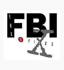 fbi x files Photographic Print