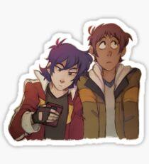 Klance Lean On Sticker