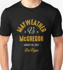 Mayweather vs McGregor Boxing shirt T-Shirt