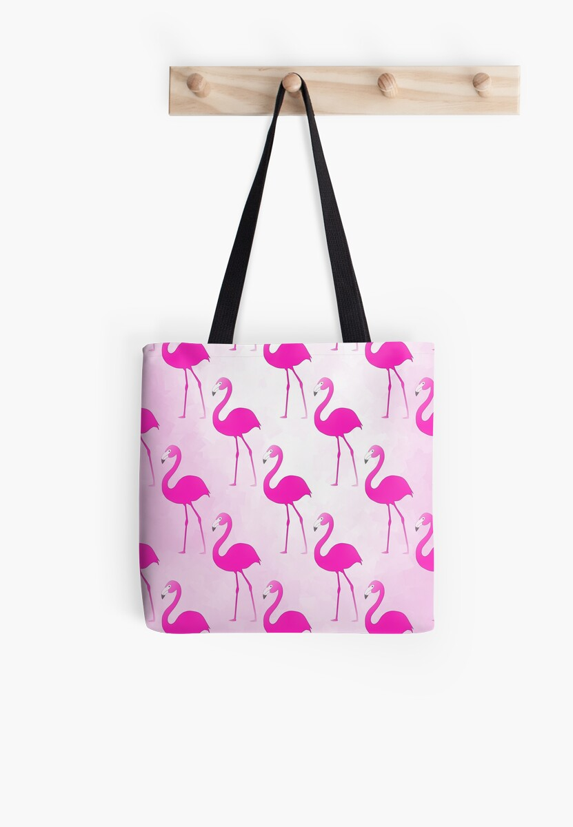 Seamless Flamingo by Sartoris Art & Photography