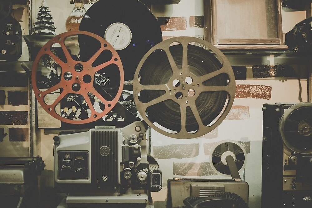 Film Reel by Rebel-Lizzie