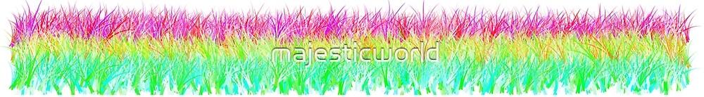 Pattern yellow green turquoise - pastels - Majesticworld by majesticworld
