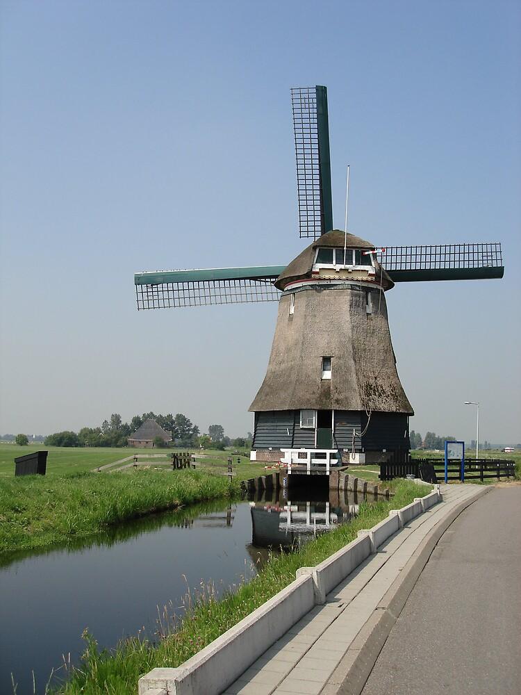 Windmill by Ajmdc