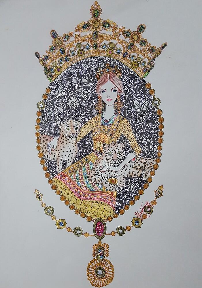 Elizabeth by yagmurkoyuncu