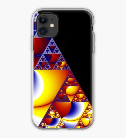 Sierpinski Triangle 2015 002 iPhone Case