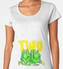 Graphic Terrible Two (dark) Women's Premium T-Shirt