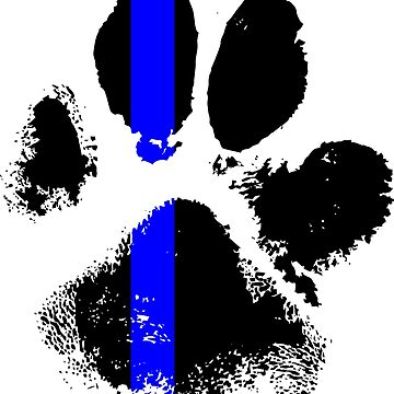 k9 blue line stickers and other products by B0red