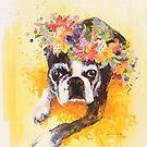 Lovely Pug by Eva Crawford