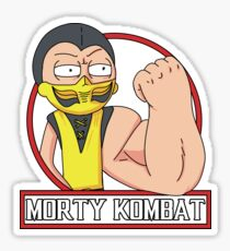 Morty Kombat Sticker