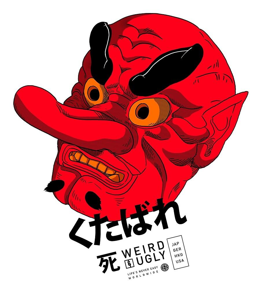 Tengu Mask by 1990Nude