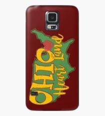 Ohio Heart Land. Ohio has heart.  Case/Skin for Samsung Galaxy