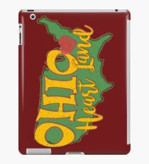 Ohio Heart Land. Ohio has heart.  iPad Case/Skin