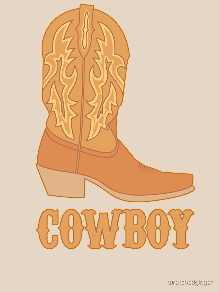 Cowboy Boot Tan by wretchedginger