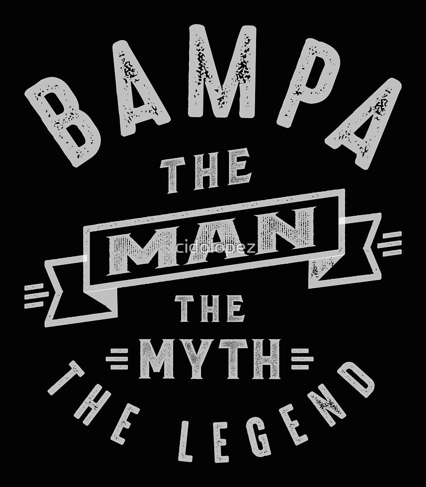 Bampa Man Myth Legend by cidolopez