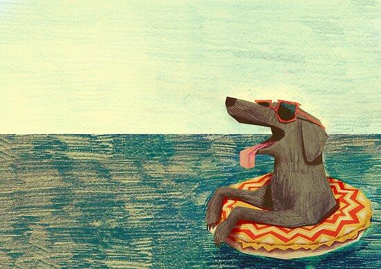 Entspanntes Doggo von Carlotta Notaro