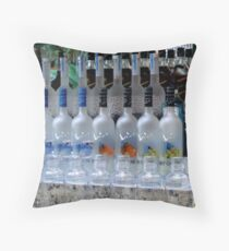 Pool Bar - Grey Goose anyone?  ^ Throw Pillow