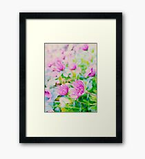 Flowers to brighten a winter's day Framed Print