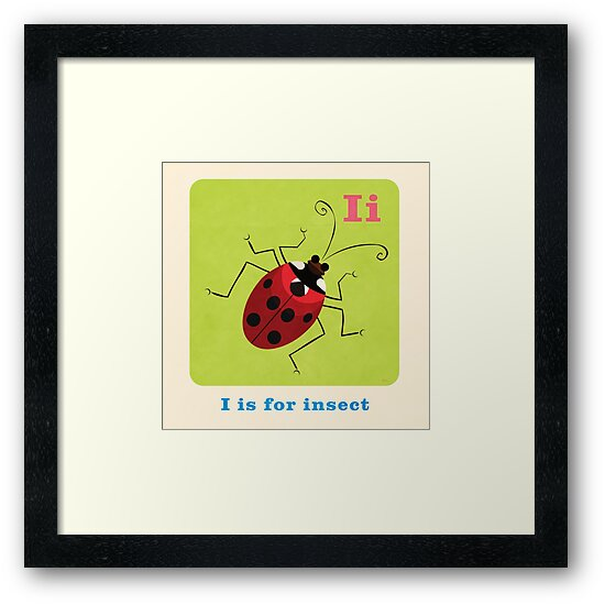 I is for insect by daviz