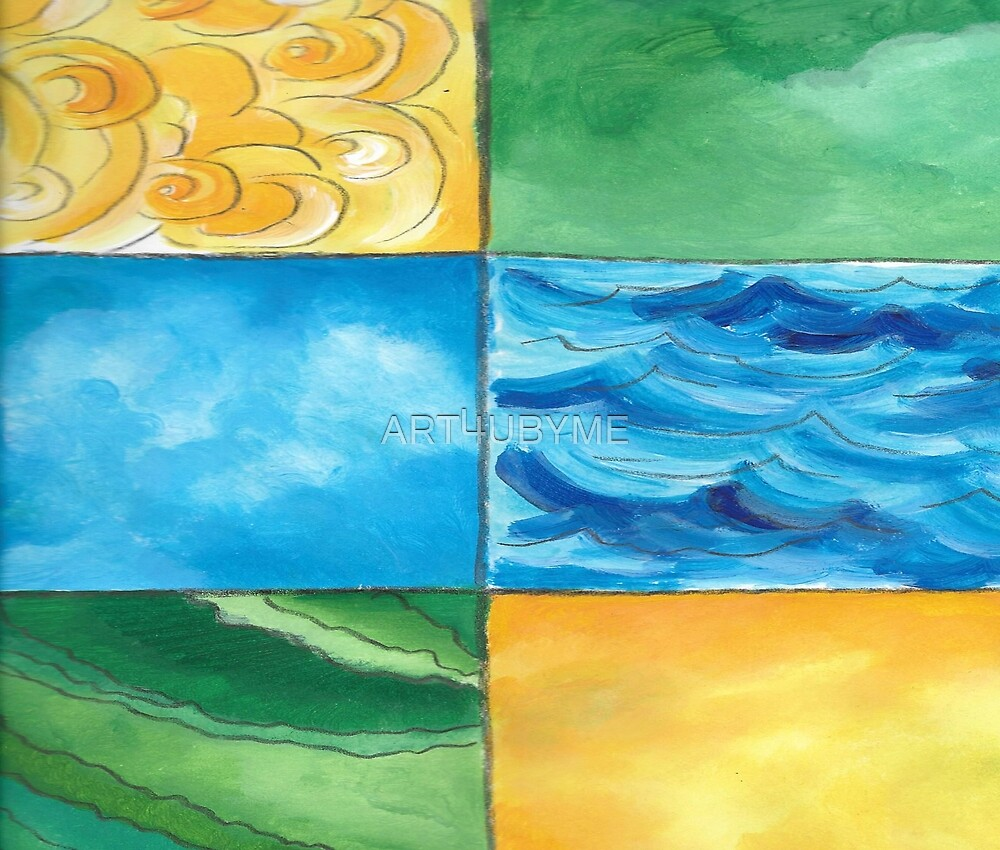 Land, Sea, Sun and lots of Summer Fun by ART4UBYME