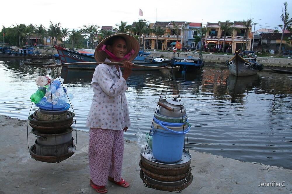 Lady by the River by JenniferC