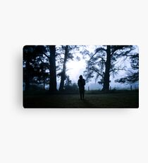 Mourning Morning Canvas Print