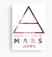 30 Seconds To Mars Universal Canvas Print
