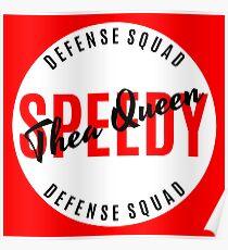 Thea Queen - Speedy - Defense Squad  Poster
